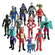 12pc Fortnite Battle Royale Pvc Action Figure Pack Game Collection Toy Doll Set