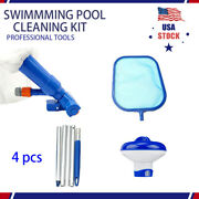 Above Ground Pool Cleaning And Maintenance Accessories Set Kit 4pcs