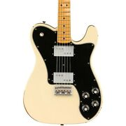 Fender Road Worn Limited Edition And03970s Telecaster Deluxe Guitar Olympic White