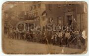 Juniata Pa High Wheel Bicycle Club Race Day Antique Cabinet Photo 1890s Cycling