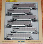 Walthers 932-5304 Gold Line Bethgon 6-pack Norfolk Southern 1 Ns