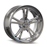 Cpp Ridler 606 Wheels 18x8 + 18x9.5 Fits Dodge Charger Coronet Dart