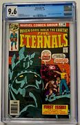 Eternals 1 Cgc 9.6 White 1976 1st Appearance Of The Eternals Mcu Movie