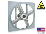 Panel Axial Exhaust Fan - Explosion Proof - 16 - 230/460v - 3/4 Hp - 3950 Cfm