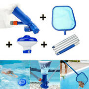4pcs Permium Pool Cleaning Kit For Above Ground Pools And Spa Pond Fountain