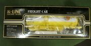 K-636101 K-line Timken Classic Tank Car 1 Die Cast Chassis New In Box