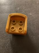 Lego Duplo Gold Thrown/seat/chair Replacement Brick 2 X 2 X 2