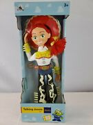 Disney Parks Pixar Toy Story Talking Jessie Pull String 16andrdquo Doll -new And Fre Ship