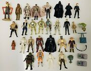 1970's-1990's Vintage Kenner Star Wars Action Figure Lot + 2013-2014 Small Lot