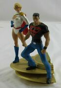 Dc Direct Superman Family Multi-part Statue Part 1 Superboy And Power Girl Figure