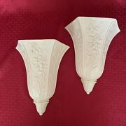 Lenox Masterpiece Collection Wall Vase 1930975 - Set Of 2