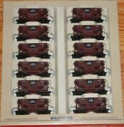 Walthers 932-4453 Ore Cars 12-pack Chicago North Western Cnw