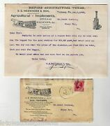Messinger Empire Agriculture Works Tatamy Pa Farming Antique Signed Advertising