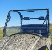 Can Am Commander Scratch Resistant Mr10 Lexan Windshield + Loop Clamps And Vents