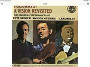 Folkways A Vision Revisited Cd Pete Seeger Woody Guthrie Leadbelly Folk Music 05