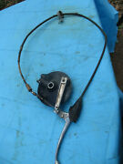 1982 Suzuki Rm125 Front Brake Hub Cable Perch And Lever