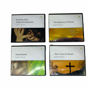 4 Rc Sproul Christian Cd Audiobooks Repentance, Cross Of Christ