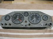 Jaguar Xk150 Dashboard With Gauges And Switches Almost Complete For Restoration