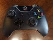 Official Microsoft Xbox One Wireless Controller Black Day One 2013 Model 1537