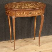 Living Room Side Table Table Inlaid Wood Furniture Antique Style 1 Drawers 900