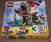 New Lego City Creator 3-in-1 Treehouse Nisb 31010 Retired 2013 Factory Sealed