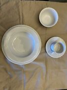 Dansk Tapestries Winter White 6 Piece Place Setting Service F