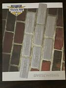Official Program 2006 Allstate 400 At The Brickyard And Ticket In Lanyard Bagged