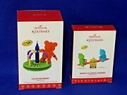 2016 And 2017 Hallmark Ornaments Color Me Merry Crayola And Beary Colorful Friends