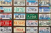 Large Lot Colorful Of 100 Old License Plates - Bulk - Many States, Low Shipping