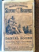 New Beadle's American Sixpenny Biographies 2 1861 Life Times Daniel Boone