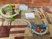 Thomas And Friends Trackmaster Castle Quest Set Track No Engine Cart Or Crown