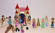 Disney Polly Pocket Beauty And The Beast Castle 2009 Mattel And Princess Figure Set