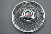 1965 1966 1967 Ford Mustang Fairlane 14 Wire Wheel Cover Hub Cap 990a-1130-b