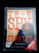 Terry Deary True Spy Stories Complete And Unabridged Audio Book Cassette 2000 New