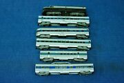 Athearn, Ho, Baltimore And Ohio Diesel Loco And 5 Passenger Car Set W/original Boxes