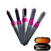 5 In 1 Complete Styles Straightener Curling Iron Multiple Hair Types Blow Dryer