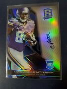 2013 Spectra Cordarrelle Patterson Auto Rc/rookie Prizm /49 Bears Free Shipping