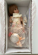 Rare Vtg Effanbee Mommy's Garden Party Katie Doll Strawberry Blond Hair Nrfb