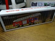 Hess 1986 Toy Fire Truck W/ Bank New In Box