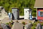 Piko 62719 Outhouse 2-pack Built Up Buildings G Scale