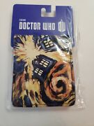 New - Bbc Dr. Doctor Who - Van Gogh Exploding Wallet 8 Sealed