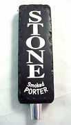 Stone Brewing Smoked Porter Tap Handle Craft Beer Man Cave Shifter Knob