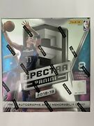 2018-19 Panini Spectra Basketball Hobby Box Factory Sealed Luka Doncic Rc Auto