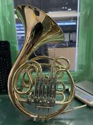 Cg Conn 10d Double French Horn With Soft Case E10012457