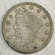 1885 Liberty Nickel, Original Extremely Fine, Discounted Key Date  0601-10