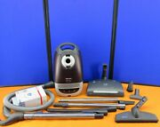 Miele Capricorn S5981 Canister Vacuum Complete W/ Powerhead Brushes Wands Bags