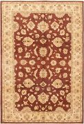 Hand-knotted Carpet 6and0397 X 9and0399 Traditional Vintage Wool Rug