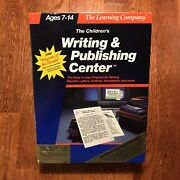 The Learning Company Vintage The Childrens Writing And Publishing Center For Apple