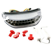 1pc Motorcycle Led Clear Tail Brake Lights Taillamp For Honda Cbr600rr 2013 2014