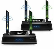 Wireless Hdmi Extender 5ghz Hdmi Loop Output Transmitter And Receiver For